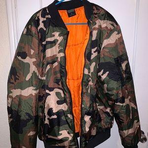 Deluxe men's bomber jacket